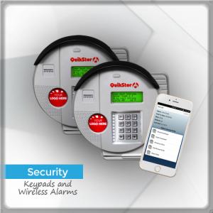 Security Alarms Keypads Storage Facility - QuikStor