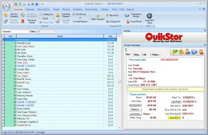 Self-Storage Software, QuikStor Express Professional
