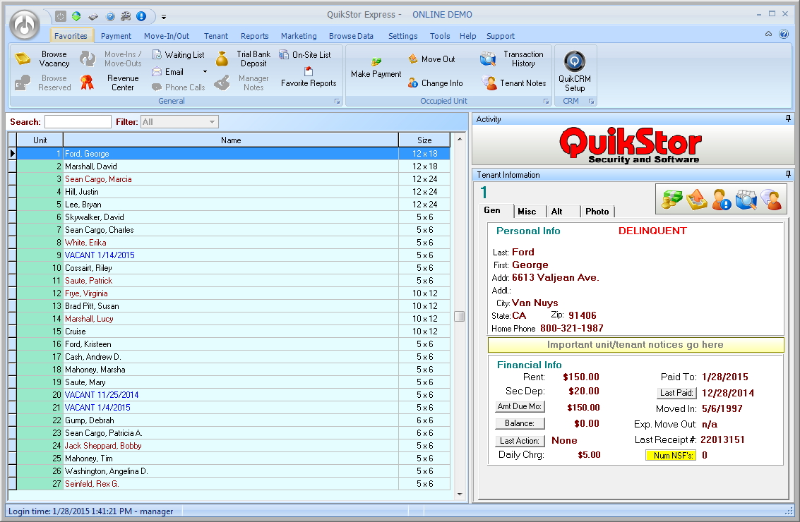 QuikStor Storage Software, Express Lite