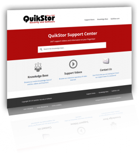 Self Storage Software, QuikStor Technical Support