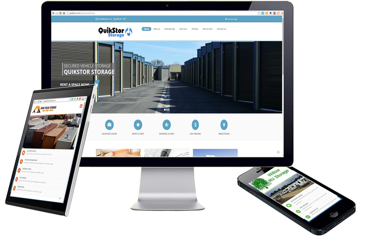 Website Design Self Storage
