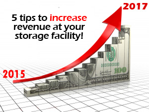 Increase Revenue storage unit rent