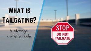 what is tailgating