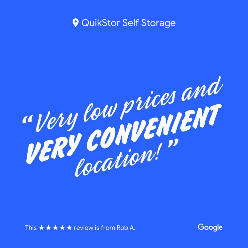 get more reviews for your storage facility. use google my business marketing kit to share reviews