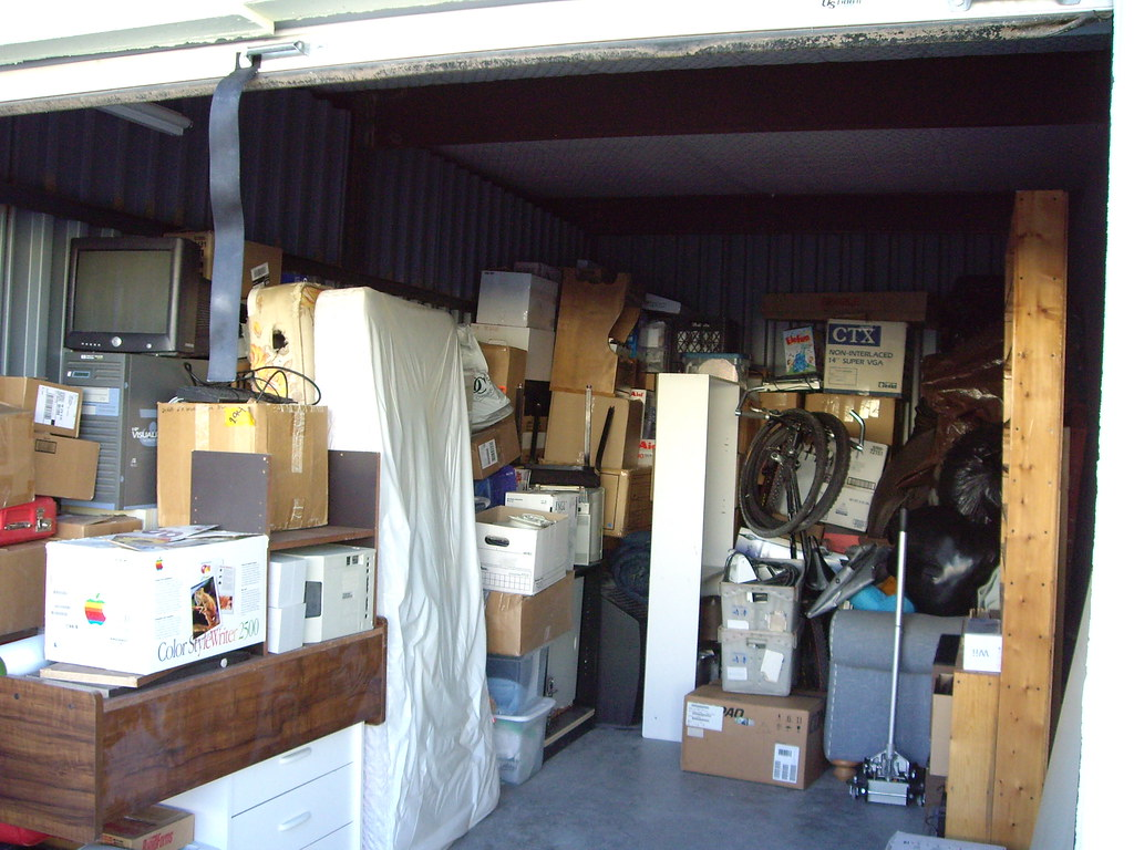 contents of a large storage unit